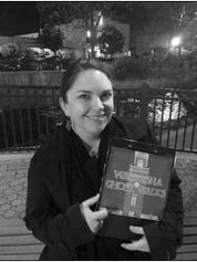 Erin Schroeder holds the directory for Waukesha Ghost Walks, which are held Fridays and Saturdays in October.