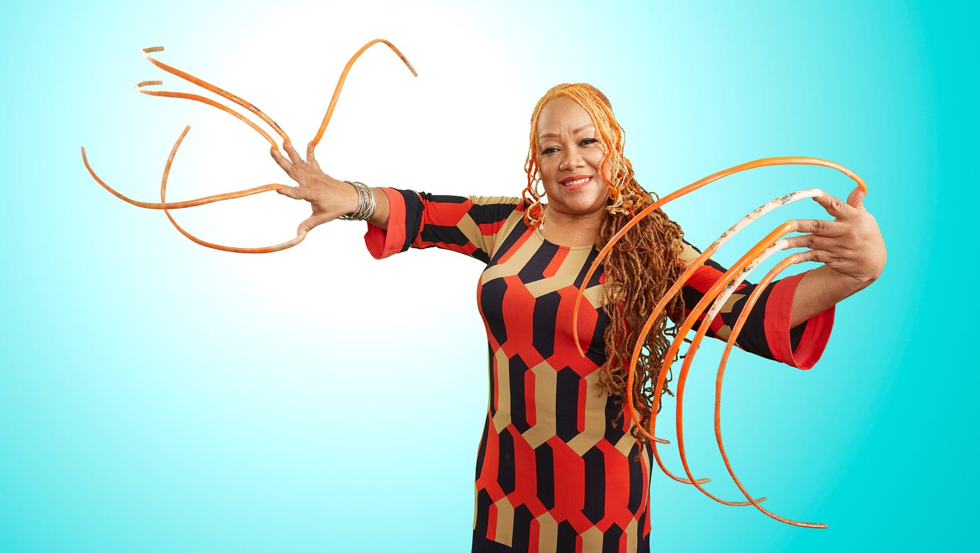 Guinness World Records 2018 Longest Nails And Oldest