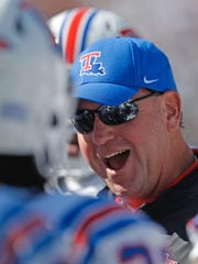 Louisiana Tech coach Skip Holtz will speak at the LHSCA coaches convention at 3 p.m. Wednesday in Shreveport.