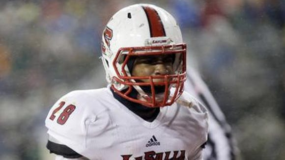 La Salle junior RB Jeremy Larkin had two touchdowns in the state final.