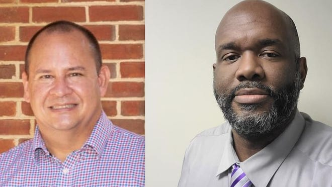 Robert Hare (left) and John Q. Williams (right) vie for the position of Athens-Clarke County sheriff, which has been held by Ira Edwards for 20 years.