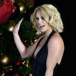 LAS VEGAS, NV - NOVEMBER 21:  Singer Britney Spears arrives to  pull a switch at a Christmas tree-lighting ceremony at The LINQ Promenade on November 21, 2015 in Las Vegas, Nevada.  (Photo by David Becker/Getty Images) ORG XMIT: 591809785 ORIG FILE ID: 498220352