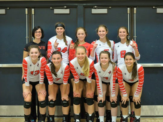 The Pacelli volleyball team claimed the Central Wisconsin