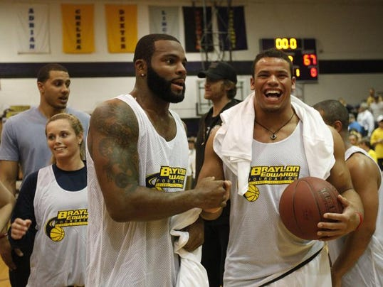 Braylon edwards foundation celebrity basketball game