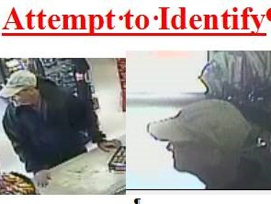 Information on a man who robbed the Circkle K on Metro