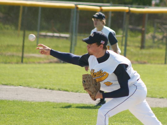 Woodmore's Jordan Shaw was a varsity pitcher under Gary Zajac. Shaw is currently the Wildcats' pitching coach.