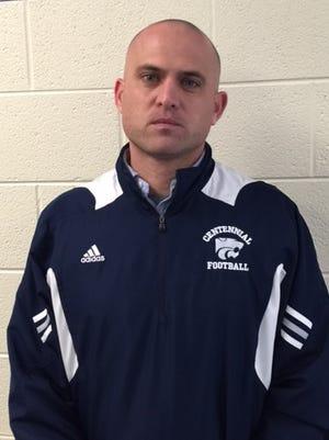 Matt Kriesky was hired as Centennial's next head football coach on Tuesday.