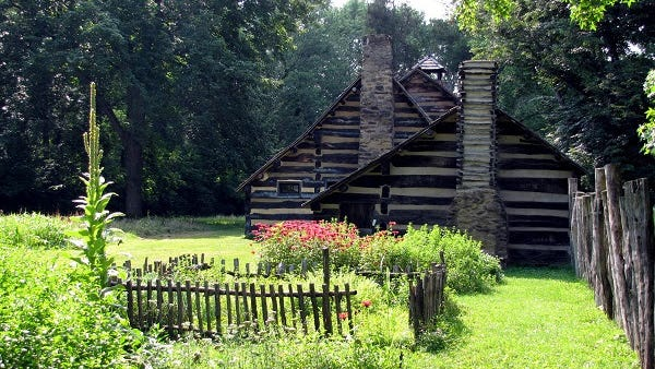 Restored to appear as it did more than two centuries ago, Schoenbrunn Village near New Philadelphia includes the original cemetery and 16 reconstructed log structures, as well as the church and gardens.