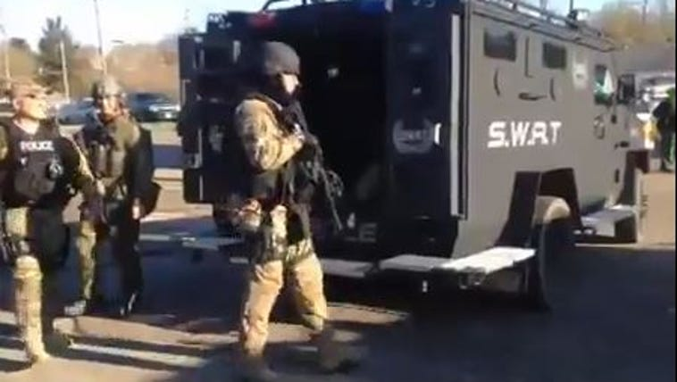April 28, 2015: SWAT responds to standoff in Mansfield