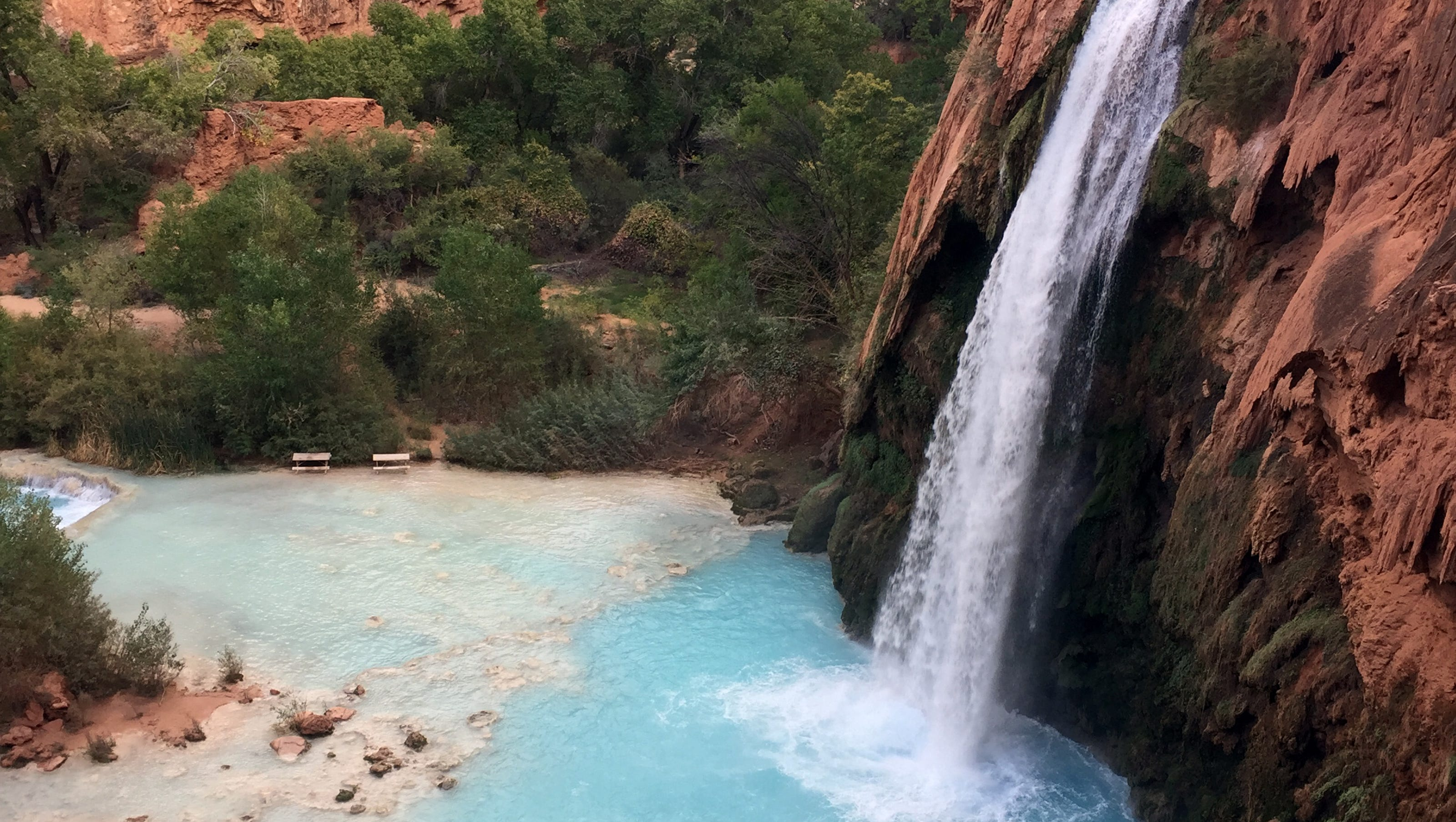 havasupai falls permits: prices go up for 2018