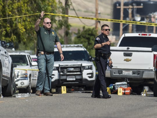 Woodlake Police and Tulare County Sheriff investigate