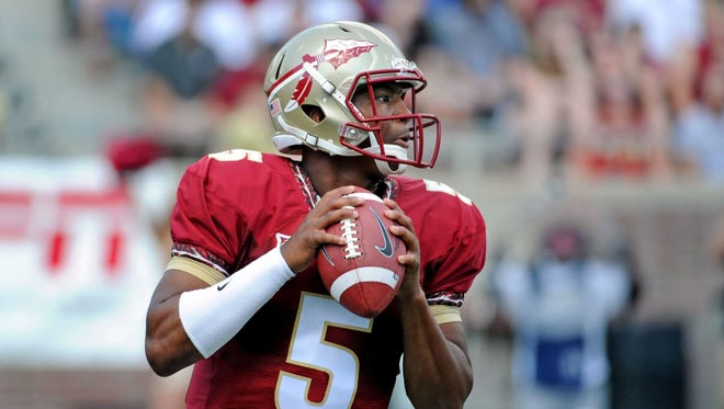 Jameis Winston and the Florida State Seminoles will start this season exactly where they ended the last one: No. 1.