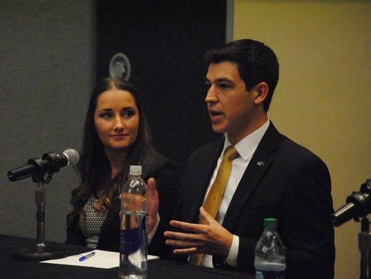 Brian & Alex - SGA Presidential Debate