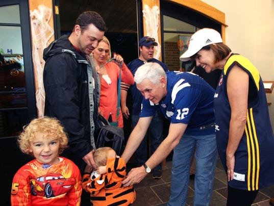 will mike pence campaign curtail halloween at indiana governors residence - Halloween Indiana