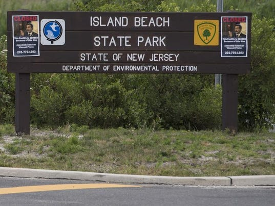 Island Beach State Park Closed Today