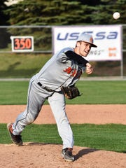 Northville's Tyler Troyer pitched six innings of scoreless relief to beat Salem in the nightcap, 6-2.