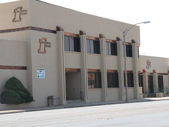 First National Bank of Alamogordo is accepting monetary