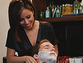 Thanks to The Mirage's Whiskey-Infused Barber Experience, gentlemen can experience a bona fide straight-razor shave while sipping on brown liquor.