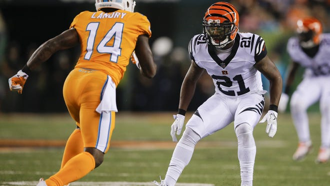 The Cincinnati Bengals have picked up the fifth-year option of cornerback Darqueze Dennard for 2018.