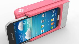 The Prynt case can turn your phone into a photo printer.