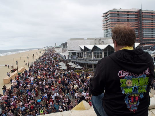 Scenes from the 2018 Asbury Park Zombie Walk, Sept. 6, 2018.