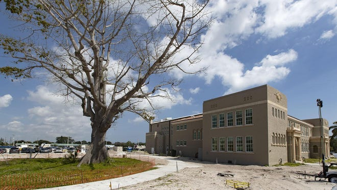 The Boynton Beach Cultural Center in the city's Town Square project is scheduled to be completed this summer. A job fair for the project resulted in only eight residents getting hired, city commissioners learned this week.