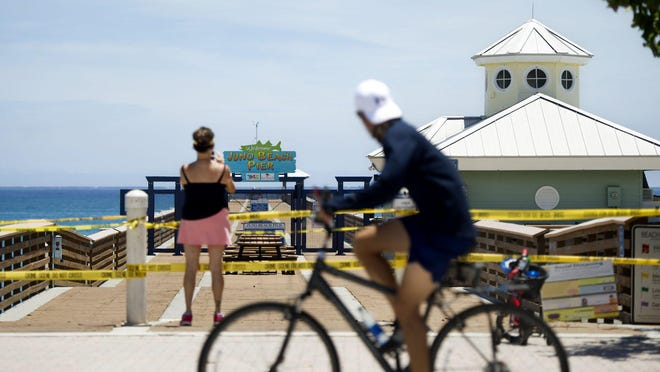 The Juno Beach Pier is scheduled to reopen Monday.
