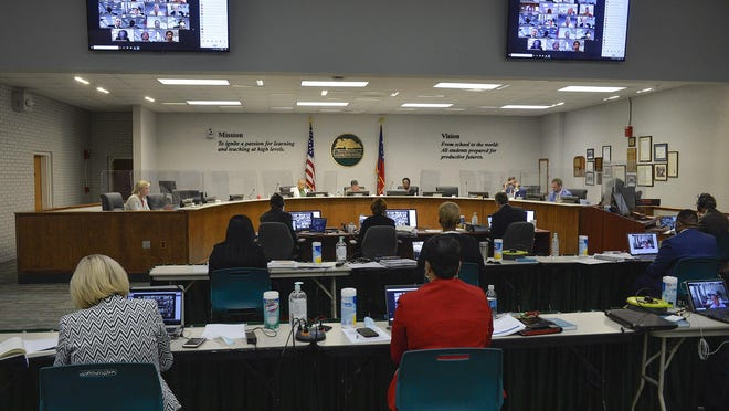 The Savannah -Chatham Public School System board met Wednesday morning in a three-hour workshop to discuss reopening logistics.