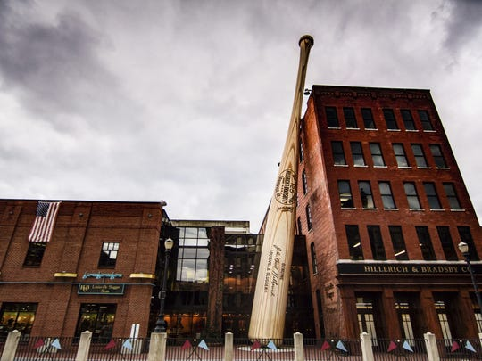 Order your personalized Louisville Slugger baseball bat at the Slugger Museum & Factory