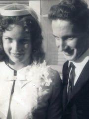 Mr. and Mrs. William Jordan Sr. -- 1964