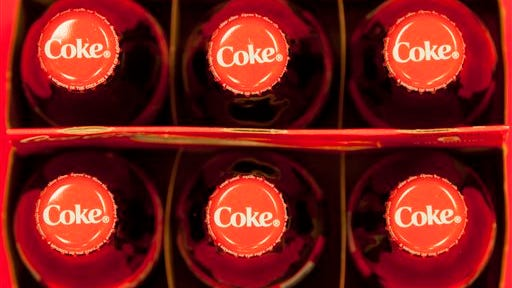 he Coca-Cola Co. reports quarterly financial results before the market opens today.