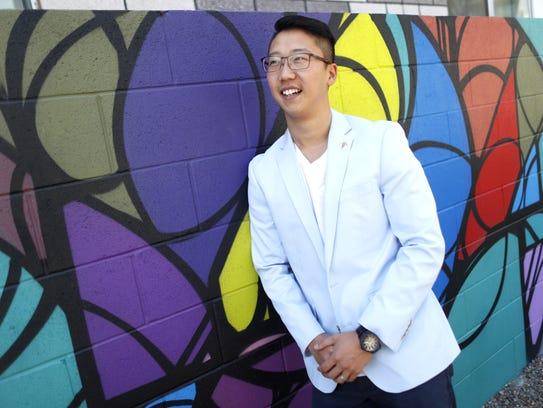 Thomas Kim earned a law degree at Arizona State University