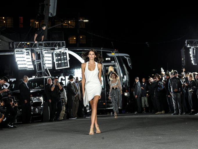 Alexander Wang capped off the night with a show on