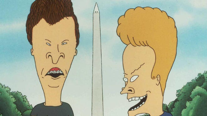 """The dynamic duo that is """"Beavis and Butt-Head"""" is returning to a screen near you."""