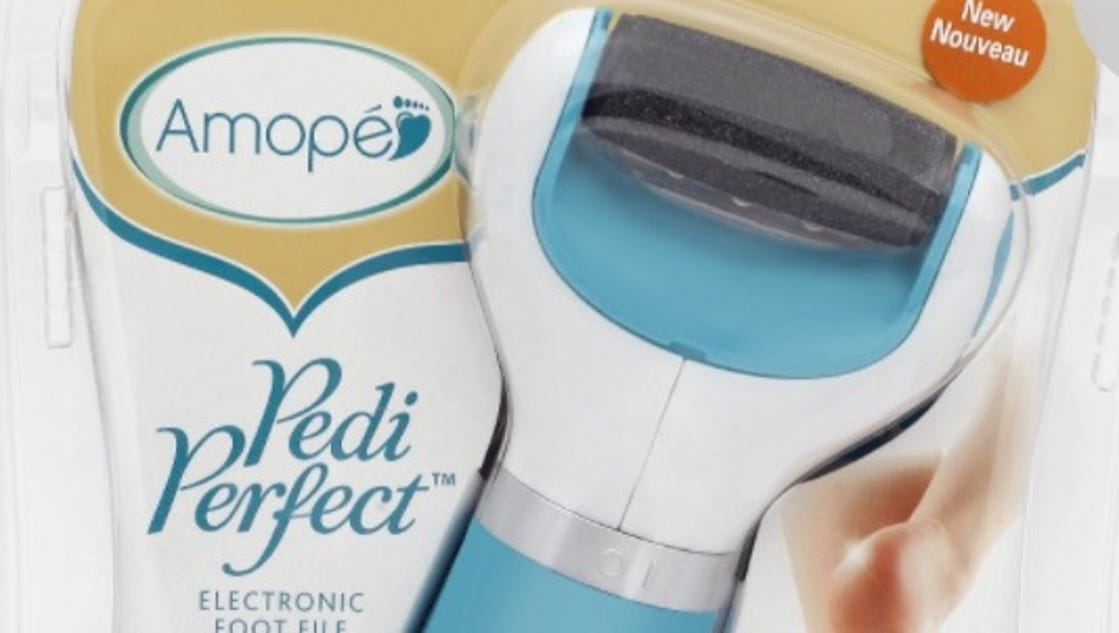 how to clean amope pedi perfect