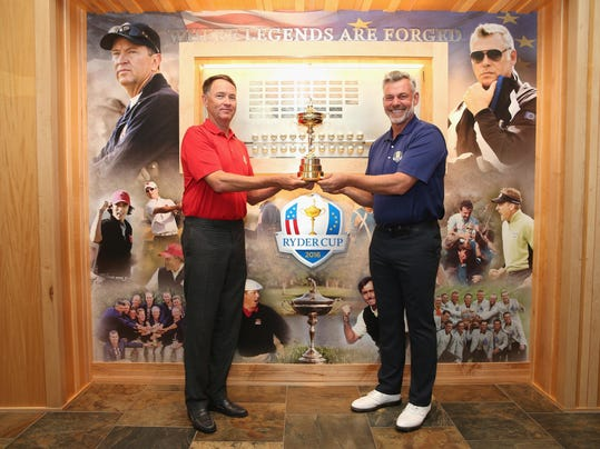2016 Ryder Cup Captains' Photoshoot