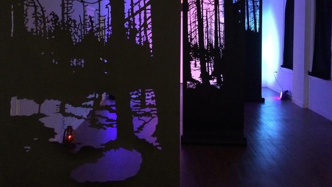 """DarkGlass"" will remain on display at Salisbury University's Downtown Galleries through Dec. 18."
