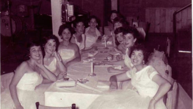 Nazareth Academy graduates enjoy an outing at the Ridge Crest Inn in this June 1955 photo provided by Rita Piro Mascaro, second from left.