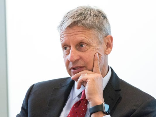 Gary Johnson: Forget about climate change, sun will ...