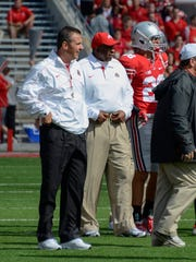 Former longtime Mansfield Senior High School head football coach Stan Jefferson works on Urban Meyer's Ohio State staff as the Buckeyes' director of player development.
