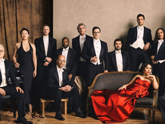 Pink Martini play at the Admiral Theatre April 17.
