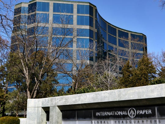 International Paper is headquartered in East Memphis.