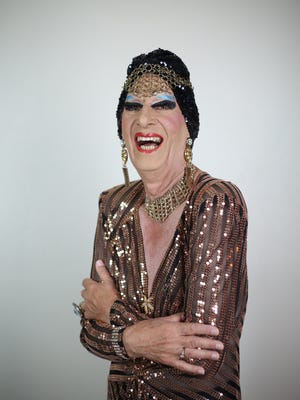 """James """"Gypsy"""" Haake,who became well-known as a drag impresario at La Cage aux Folles, now emcees at Carnival Cabaret in Palm Springs."""