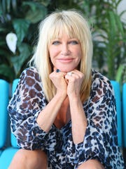 Suzanne Somers in her suite at the Westgate Las Vegas