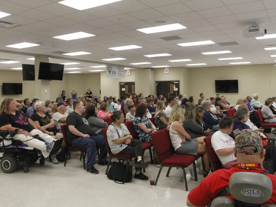 People fill up Southwest Center for Independent Living