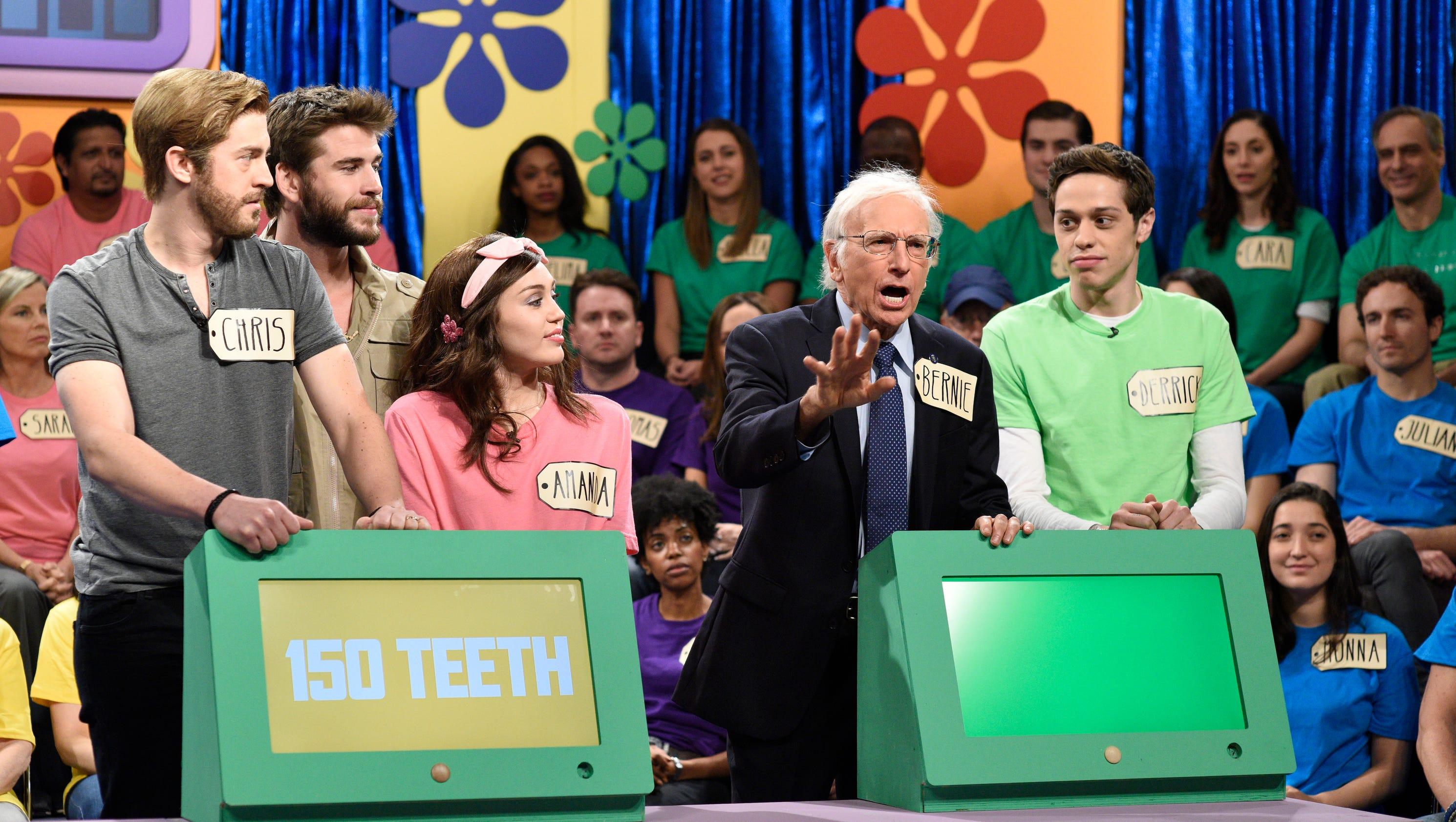 Larry David's Bernie Sanders returns to 'Saturday Night Live'