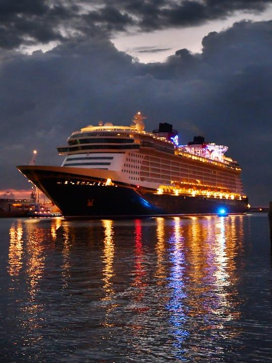 Cruise ships return to port