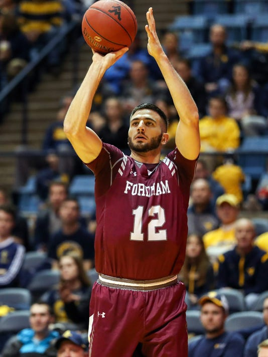 NCAA Basketball: Fordham at West Virginia