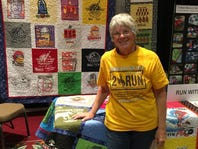 Pensacola woman turns treasured T-shirts into quilts