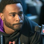 The New Orleans Saints drafted Georgia defensive back Damian Swann on Saturday.